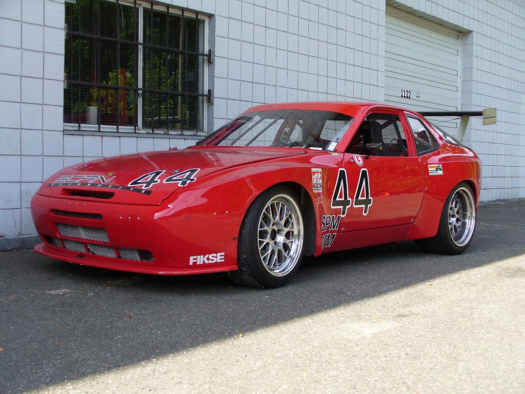 1986 Porsche 944 Turbo Race Car Scan Automotive