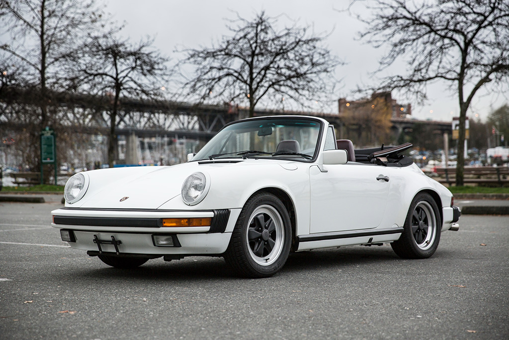 Convertible For Sale >> 1988 Porsche 911 Carrera Cabriolet – Scan Automotive