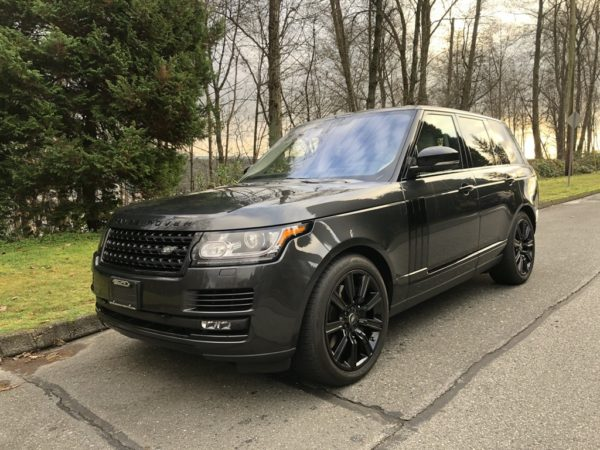 2016.5 Land Rover Range Rover Supercharged SWB