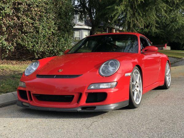 2007 Porsche GT3 (997.1) Guards Red